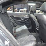 2016 Mercedes E Class (W213) rear seats at the Geneva Motor Show Live