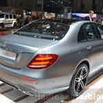 2016 Mercedes E Class (W213) rear three quarter at the Geneva Motor Show Live