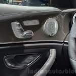 2016 Mercedes E Class (W213) seat controls at the Geneva Motor Show Live