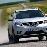 2016 Nissan X-Trail front