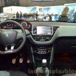 2016 Peugeot 2008 GT Line dashboard at 2016 Geneva Motor Show