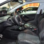 2016 Peugeot 2008 GT Line front seats at 2016 Geneva Motor Show