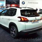 2016 Peugeot 2008 GT Line rear quarter at 2016 Geneva Motor Show