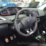 2016 Peugeot 2008 GT Line steering wheel at 2016 Geneva Motor Show
