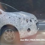 2016 Proton Persona front end snapped testing