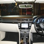 2016 Skoda Superb dashboard launched in India