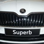 2016 Skoda Superb grille launched in India