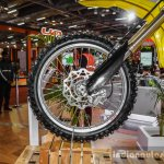 2016 Suzuki RM-Z250 Showa fork disc brake at Auto Expo 2016