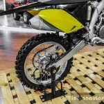 2016 Suzuki RM-Z250 swingarm at Auto Expo 2016