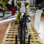 2016 Suzuki RMX450Z rear at Auto Expo 2016