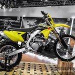 2016 Suzuki RMX450Z side at Auto Expo 2016