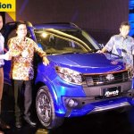 2016 Toyota Rush (facelift) front quarter launched in Indonesia