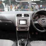 2016 VW Cross Polo dashboard at the Auto Expo 2016