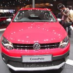 2016 VW Cross Polo front at the Auto Expo 2016