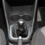 2016 VW Cross Polo gearknob at the Auto Expo 2016