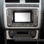 2016 VW Cross Polo infotainment system at the Auto Expo 2016