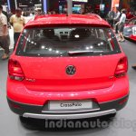 2016 VW Cross Polo rear at the Auto Expo 2016