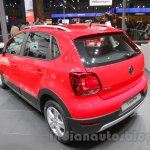 2016 VW Cross Polo rear left quarter at the Auto Expo 2016