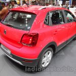 2016 VW Cross Polo rear right quarter at the Auto Expo 2016
