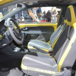 2016 VW Up! (facelift) front cabin at the 2016 Geneva Motor Show