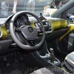 2016 VW Up! (facelift) interior at the 2016 Geneva Motor Show