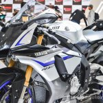 2016 Yamaha R1M fairing at Auto Expo 2016