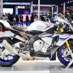 2016 Yamaha R1M side at Auto Expo 2016