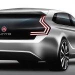 2017 Fiat Punto 5-door concept rear three quarters rendering