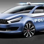 2017 Fiat Punto police car concept rendering