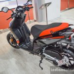Aprilia SR 150 Black and Red at Auto Expo 2016