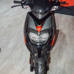 Aprilia SR 150 Black headlamp at Auto Expo 2016