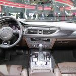 Audi A6 Allroad Quattro dashboard at 2016 Auto Expo