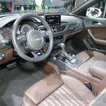 Audi A6 Allroad Quattro interior at 2016 Auto Expo