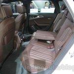 Audi A6 Allroad Quattro rear seat at 2016 Auto Expo