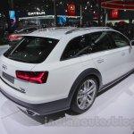 Audi A6 Allroad Quattro right rear three quarter at 2016 Auto Expo