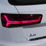 Audi A6 Allroad Quattro taillamp at 2016 Auto Expo