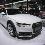 Audi A6 allroad front three quarters right side