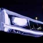 Audi Q2 headlamp teaser screenshot