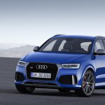 Audi RS Q3 performance front three quarters