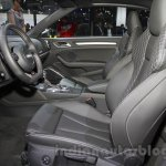 Audi S3 Cabriolet front seats