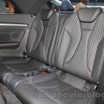 Audi S3 Cabriolet rear seats