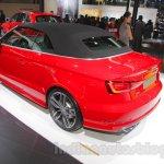 Audi S3 Cabriolet rear three quarters