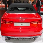 Audi S3 Cabriolet rear