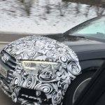 Audi S3 Sportback facelift front spotted testing