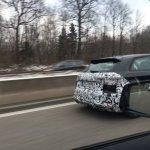 Audi S3 Sportback facelift rear end spotted testing