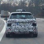Audi S3 Sportback facelift rear spotted testing
