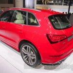 Audi SQ5 TDI rear three quarters
