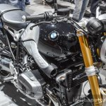 BMW R nineT front quarter at Auto Expo 2016