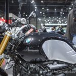 BMW R nineT fuel tank at Auto Expo 2016