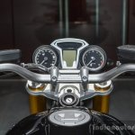 BMW R nineT instrument console at Auto Expo 2016